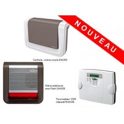 Pack Alarme Diagral intégral GSM sur mesure !
