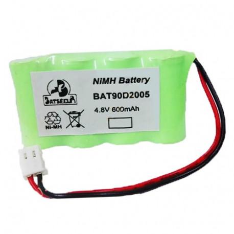 Batterie BAT90D2005 BatSecur NiMH 4,8V 600mAh