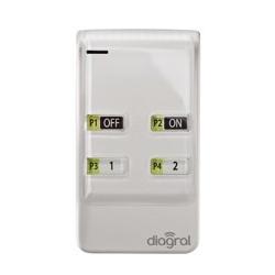 Télécommande 8 fonctions Diagral DIAG42ACK