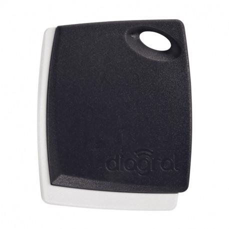 Badge noir fusain DIAG41BCX