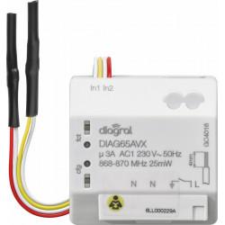 Récepteur encastrable Diagral DIAG65AVX pour l'éclairage