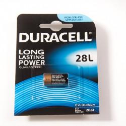 pile BatLi03 (Duracell L28)