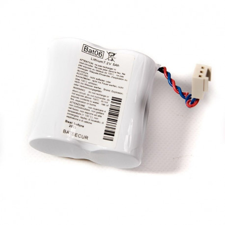 pile alarme Batsecur Bat06, compatible Logisty Hager BatLi06