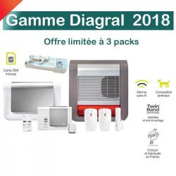 Promo 5 - Pack Alarme Diagral