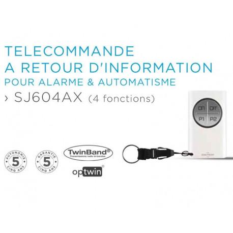 Télécommande 4 fonctions Daitem SJ604AX