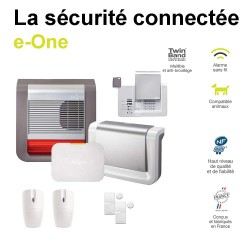 Kit alarme Diagral connectée