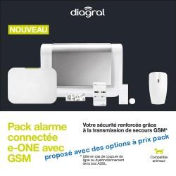 Alarme Diagral connectée + GSM